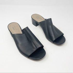 Clarks Elisa Rose Block Heel Comfort Sandal Shoes
